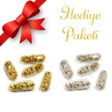 24K Kapsül Altın ve Gümüş Hediye Paketi
