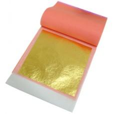 24K Transfer Yaprak Altın (25 adet, 8 x 8 cm)